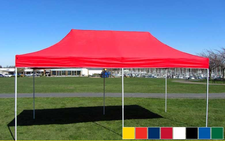 Canopy Tent Canopy Tent & Premier Tents 10 x 20 Apex Steel Easy Pop Up Canopy Commercial Grade ...