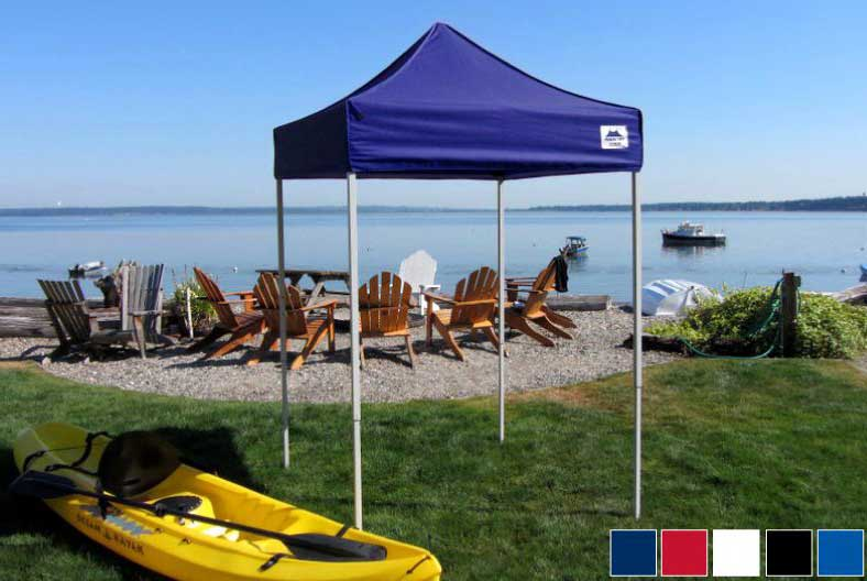 Top Premier Canopy Tops are made of 600D polyester fabric and are available in a variety of colors. & Premier Tents 5 x 5 Apex Aluminum Easy Pop Up Canopy Commercial ...