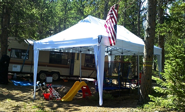 10 X 20 Ez Pop Up Canopy No Sidewalls Golf Outlets Of